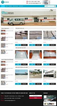 Mẫu website bán hàng ITI_05