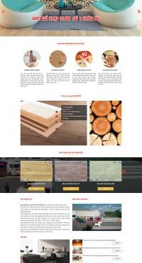 Mẫu website giới thiệu sản phẩm ITI_01