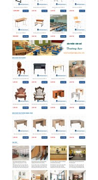 Mẫu website bán hàng nội thất ITI_07