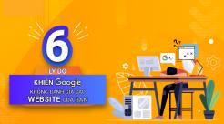 6 Lý Do Khiến Google Không Đánh Giá Cao Website Của Bạn