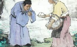 Đời người một cuộc trả vay, nhận ân một giọt báo ân một dòng